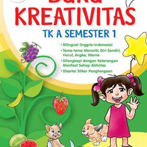 Buku Kreativitas TK A Semester 1