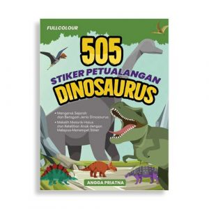 505 Stiker Petualangan Dinosaurus
